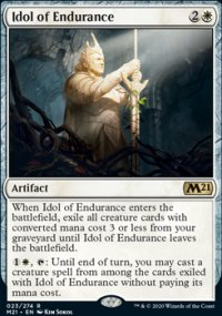 Idol of Endurance 1 - Core Set 2021