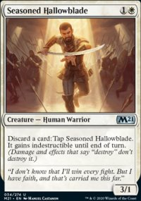 Seasoned Hallowblade - Core Set 2021