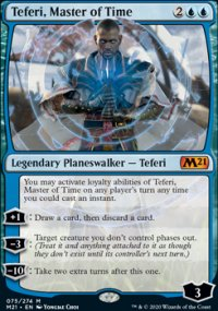 Teferi, Master of Time 1 - Core Set 2021