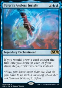 Teferi's Ageless Insight 1 - Core Set 2021