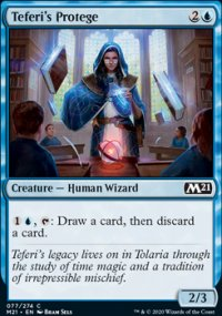 Teferi's Protege 1 - Core Set 2021