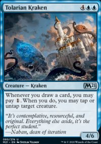 Tolarian Kraken - Core Set 2021