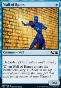 Wall of Runes - Core Set 2021