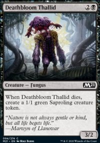 Deathbloom Thallid - Core Set 2021