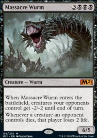 Massacre Wurm 1 - Core Set 2021