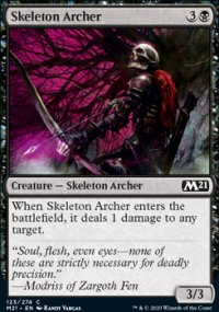 Skeleton Archer - Core Set 2021