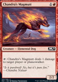 Chandra's Magmutt 1 - Core Set 2021