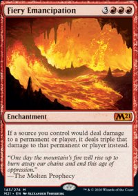 Fiery Emancipation 1 - Core Set 2021