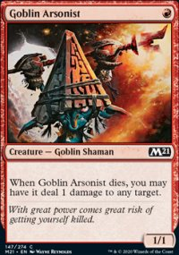 Goblin Arsonist - Core Set 2021