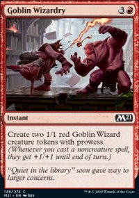 Goblin Wizardry - Core Set 2021