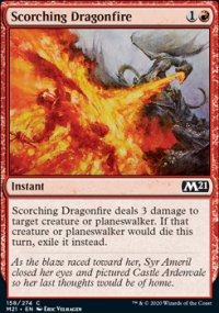 Scorching Dragonfire - Core Set 2021