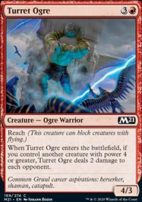 Turret Ogre - Core Set 2021