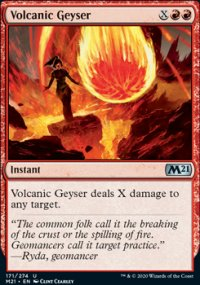 Volcanic Geyser - Core Set 2021