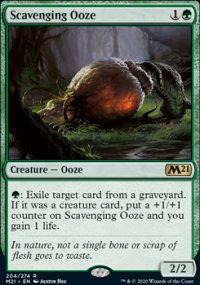 Scavenging Ooze 1 - Core Set 2021