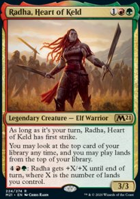 Radha, Heart of Keld 1 - Core Set 2021