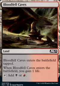 Bloodfell Caves - Core Set 2021