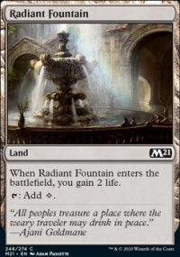 Radiant Fountain - Core Set 2021