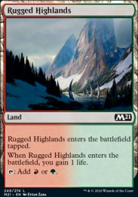 Rugged Highlands - Core Set 2021