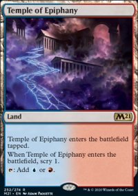 Temple of Epiphany 1 - Core Set 2021