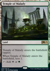 Temple of Malady 1 - Core Set 2021