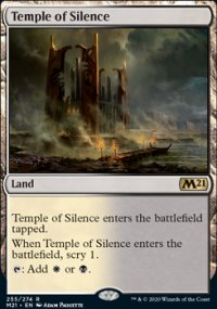 Temple of Silence 1 - Core Set 2021