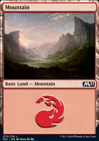 Mountain 2 - Core Set 2021