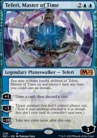 Teferi, Master of Time 3 - Core Set 2021