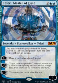 Teferi, Master of Time 4 - Core Set 2021