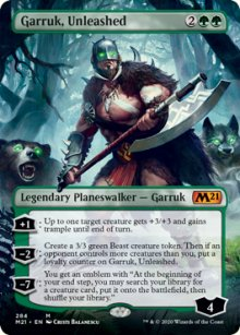 Garruk, Unleashed 2 - Core Set 2021