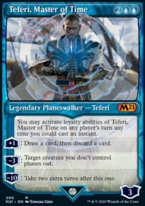 Teferi, Master of Time 6 - Core Set 2021