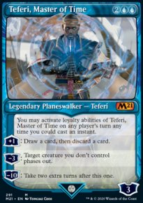 Teferi, Master of Time 7 - Core Set 2021