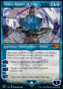 Teferi, Master of Time 8 - Core Set 2021