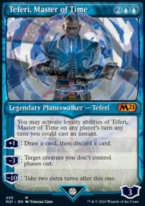 Teferi, Master of Time 9 - Core Set 2021