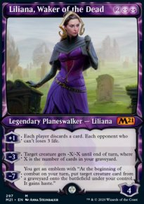 Liliana, Waker of the Dead 3 - Core Set 2021