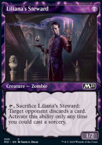 Liliana's Steward 2 - Core Set 2021