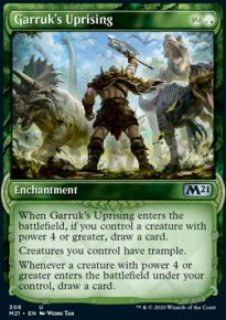 Garruk's Uprising 2 - Core Set 2021