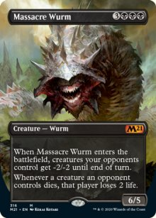Massacre Wurm 2 - Core Set 2021