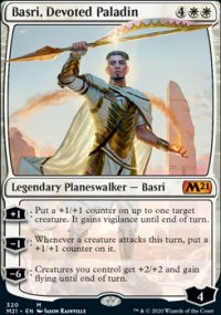 Basri, Devoted Paladin - Core Set 2021