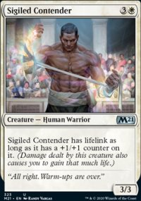Sigiled Contender - Core Set 2021