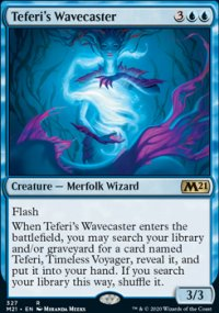 Teferi's Wavecaster - Core Set 2021