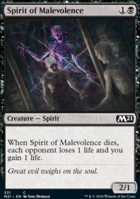 Spirit of Malevolence - Core Set 2021