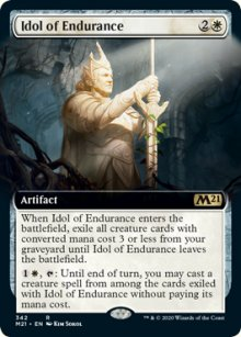 Idol of Endurance 2 - Core Set 2021