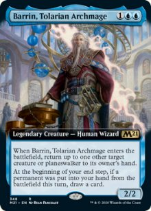 Barrin, Tolarian Archmage 2 - Core Set 2021