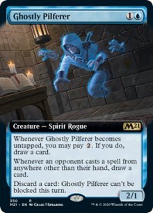 Ghostly Pilferer 2 - Core Set 2021