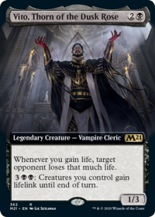 Vito, Thorn of the Dusk Rose 2 - Core Set 2021
