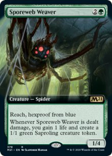 Sporeweb Weaver 2 - Core Set 2021