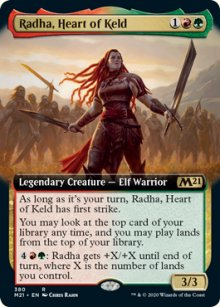 Radha, Heart of Keld 2 - Core Set 2021
