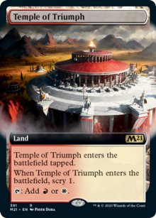 Temple of Triumph 2 - Core Set 2021