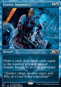 Frantic Inventory 2 - Core Set 2021
