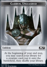 Emblem Garruk, Unleashed - Core Set 2021